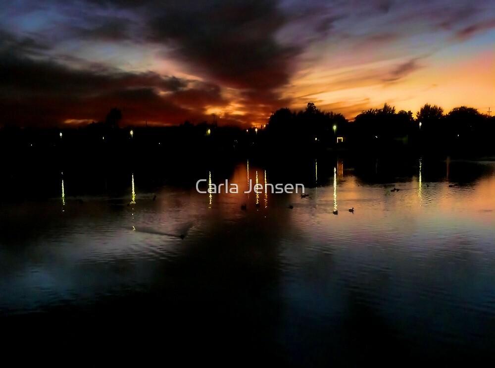 The Warm Glow Of A Days Last Light by Carla Jensen