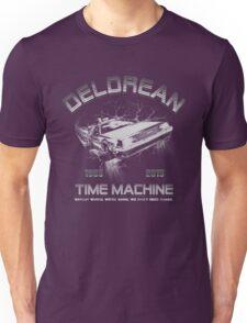 Delorean in Flight  Unisex T-Shirt