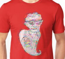 Woody Allen in a Ghostly Confusion  Unisex T-Shirt