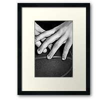 Success Often Teams With Grit and Grime Framed Print