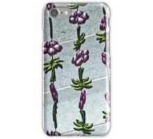 palm trees & flowers iPhone Case/Skin
