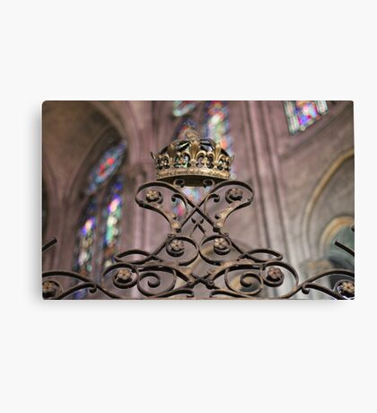 Crown of Gold, Notre Dame: Paris Canvas Print