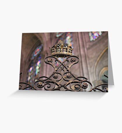 Crown of Gold, Notre Dame: Paris Greeting Card