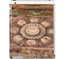 Stone Flower: At the Temple of the Woman, Banteay Srey, Siem Reap, Cambodia iPad Case/Skin