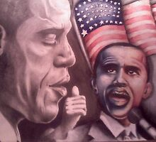 Final Stage Of Obama by Courtney Hill