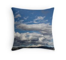 October Skies Throw Pillow