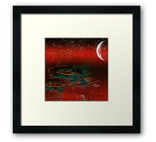 Starry Starry Night-  Art & Products Design  Framed Print