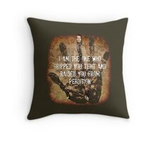Raised From Perdition Throw Pillow