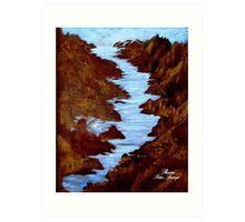 COLORADO RIVER Art Print
