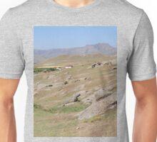 an unbelievable Uzbekistan landscape Unisex T-Shirt