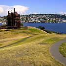 GasWorks Park from West Hill by Mike Cressy