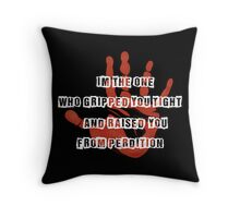 Gripped You Tight Throw Pillow