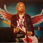 Kurt Cobain ( in progress) by Christopher  Salmon