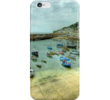 Mousehole Harbour 2 iPhone Case/Skin