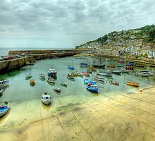 Mousehole Harbour 2 by Paul Thompson Photography