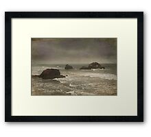 I Can Almost Feel You Framed Print