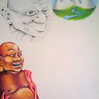Ghandi by Courtney Hill