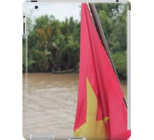 Vietnam Flag: Mekong River, South-East Asia iPad Case/Skin