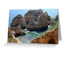 Ponta da Piedade, Lagos, Portugal Greeting Card