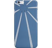Mid Air Collision. iPhone Case/Skin