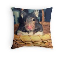 Eko the Hamster Throw Pillow