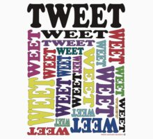 Tweet T-Shirt by Sally Green
