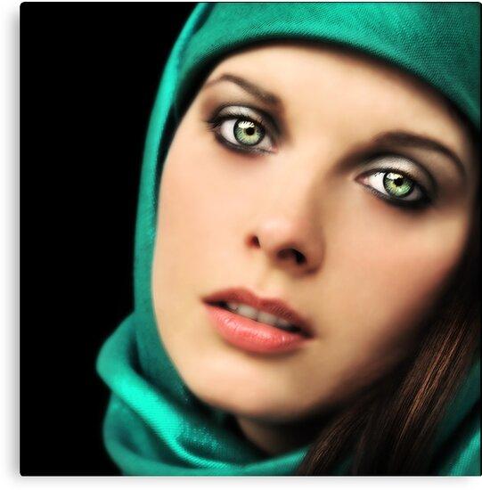 Renaissance Girl by Zuzana D Photography