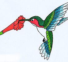Hummingbird by TheIzzySquishy