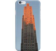 Skyscraper in Pink: 30 Rock, NYC iPhone Case/Skin