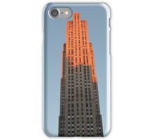 Skyscraper in Pink: 30 Rock, NYC iPhone Case/Skin