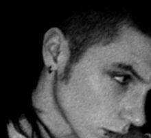 Black Veil Brides Andy Biersack Blurred Sticker