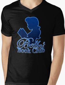 Belle's Book Club Mens V-Neck T-Shirt