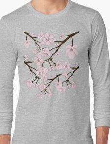Sakura Blossoms Long Sleeve T-Shirt