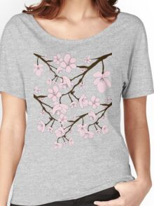 Sakura Blossoms Women's Relaxed Fit T-Shirt