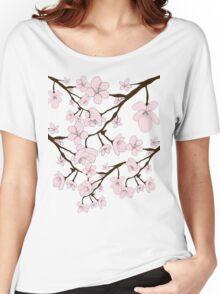 Sakura Blossoms Women's Relaxed Fit T-Shirt