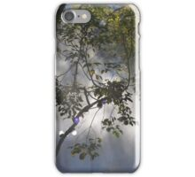 Light streaming through tree iPhone Case/Skin