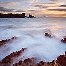 Clachtoll Split Rock by Christopher Cullen