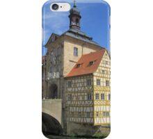 Town Hall, Bamberg - UNESCO World Heritage city iPhone Case/Skin
