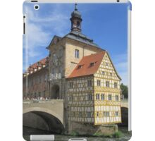 Town Hall, Bamberg - UNESCO World Heritage city iPad Case/Skin