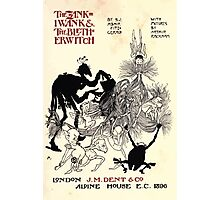 The Zankiwank & the Bletherwitch by Shafto Justin Adair Fitz Gerald art Arthur Rackham 1896 0011 Title Page Photographic Print