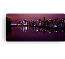 Skyline Reflections Canvas Print