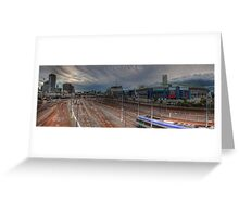 Southern Cross Station • Melbourne • Victoria Greeting Card