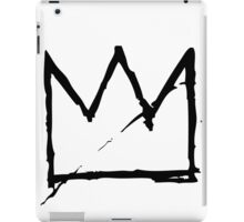 Basq Crown BLK iPad Case/Skin