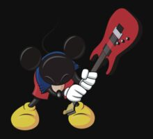 Mickey Mouse Smashing Guitar Kids Clothes