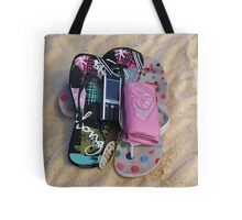 Teenage Splash Tote Bag