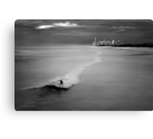 Long Ride Canvas Print