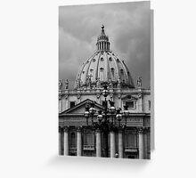 St. Peters Basilica Greeting Card