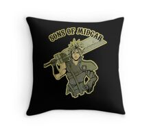 Sons of Midgar Throw Pillow