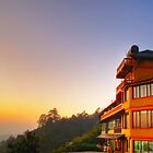 Hotel on a mountain by adng