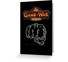 GAME OF WAR: FIRE AGE - REV REVOLUTION BABY! Greeting Card